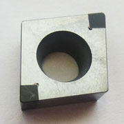 CCGW solid corner cbn turning inserts