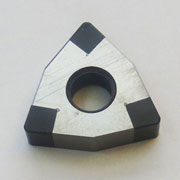 WNGA solid corner cbn turning insert